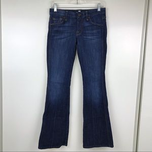 7FAM A Pocket Jeans Flare 25 7 For All Mankind EUC